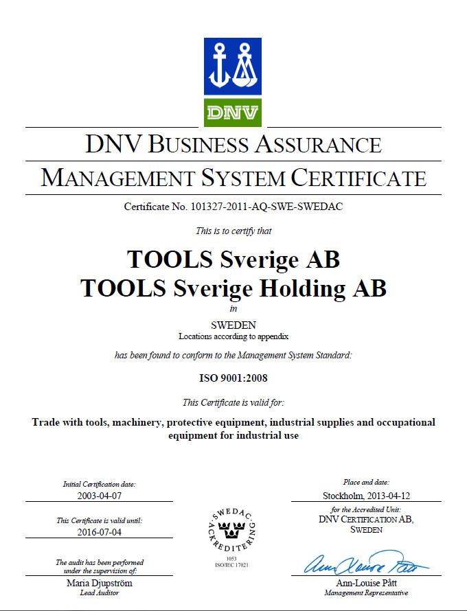 Laitis ISO 14001 certifiering